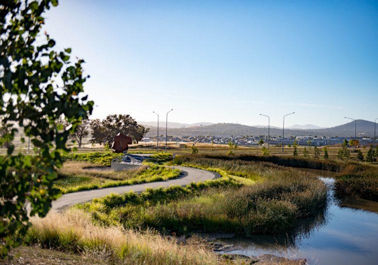 Denman Prospect wetlands